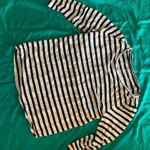 3 Stripe Tops (Loft, Piper + Paul, Zara)